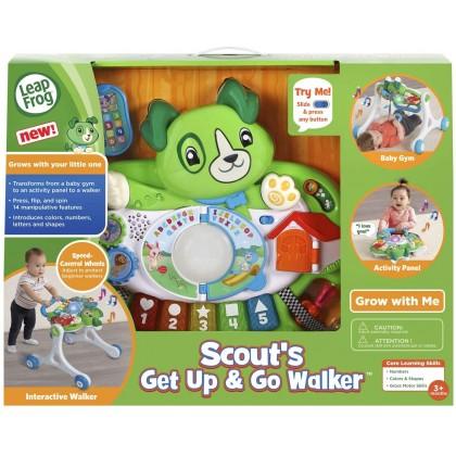 LeapFrog Scout's Get Up & Go Walker