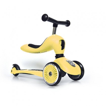 Scoot N Ride Highwaykick1 Scooter - Lemon