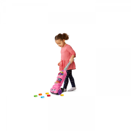 LeapFrog Pick Up & Count Vacuum - Pink