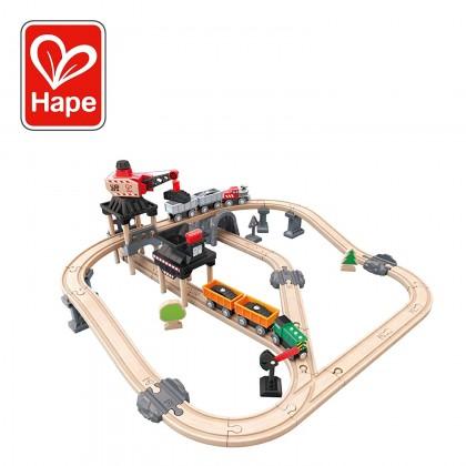 Mining Loader Set Railways Hape HP 3756