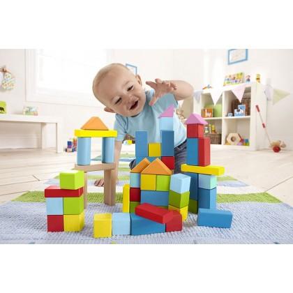 Wonderfull Beech Blocks 101pcs Hape Toys