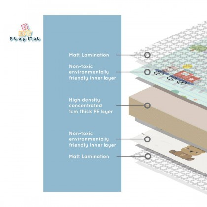 Animal Macaron PE Design Mat 150*200*1.0 - Sale RM59 FREE POSTAGE (SS Add RM65)