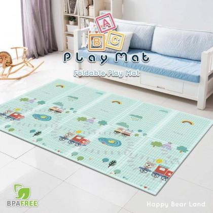 PE Design Mat Happy Bear - Sale RM59 FREE POSTAGE (Foldable) Sabah Sarawak Add RM65 Postage