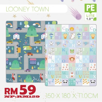 Looney Town PE Design Mat 150*200*1.0 - Sale RM59 FREE POSTAGE (SS Add RM65)