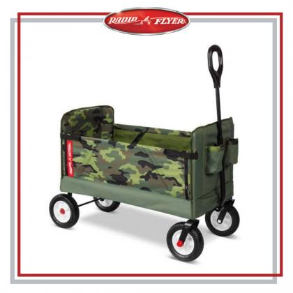 Radio Flyer EZ Folding Wagon Camouflage Off roads