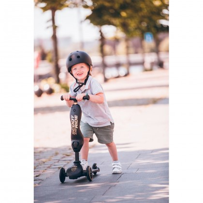 Scoot and Ride Helmet - Black (Limited Edition)