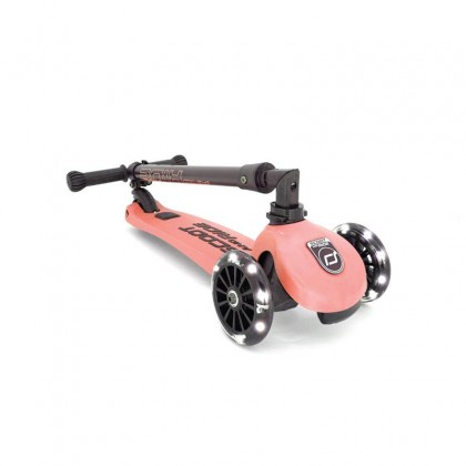 Scoot N Ride Highwaykick 3 Scooter - Peach