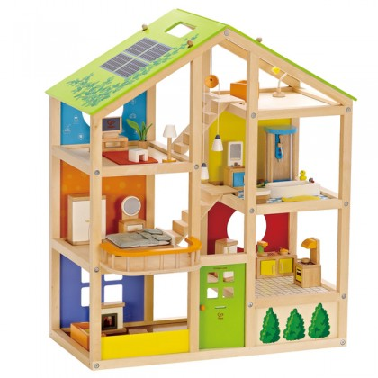 Hape - All Season Doll House