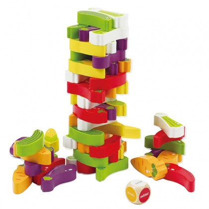 Hape - Stacking Veggie Game