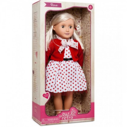Our Generation - Retro Doll (Rose)
