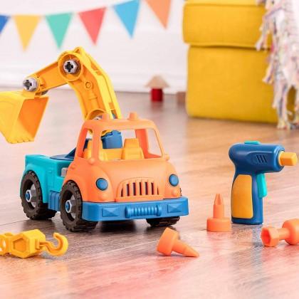 B. Toys -Wonder Wheels Take-Apart Crane Truck - Powered Drill