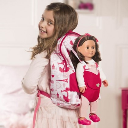 Our Generation Doll Carrier Backpack - Party