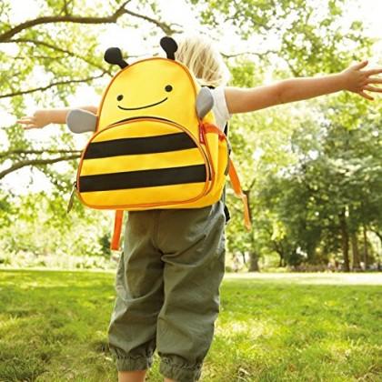Skip Hop Zoo Packs Little Kids Backpacks - Bee