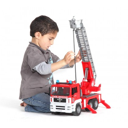 Bruder MAN Fire Engine with Water Pump, and Light & Sound Module