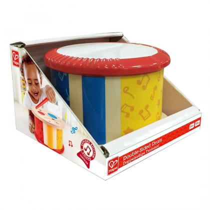 Hape Double Sided Drum - Multi-Colour