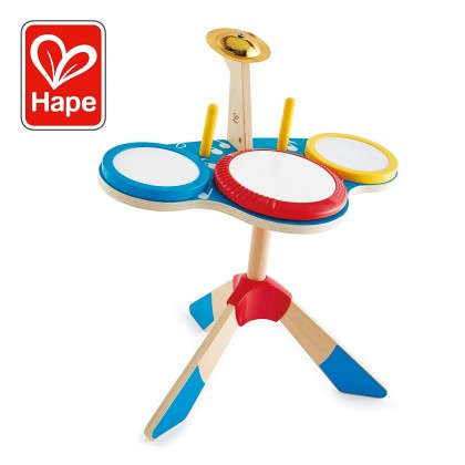 Hape Drum & Cymbal Set Musical Toy