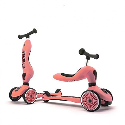 Scoot N Ride Highwaykick1 Scooter - Peach