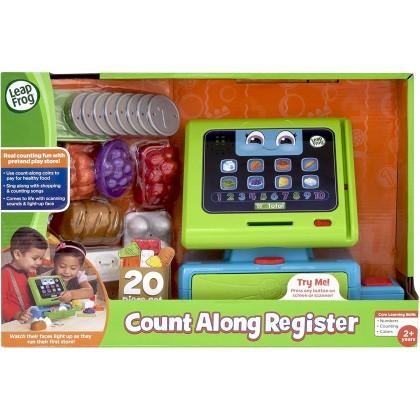 LeapFrog Count Along Register Machine