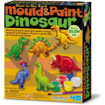 4M Mould & Paint - Dinosaur