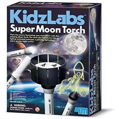4M Kidz Labs - Super Moon Torch