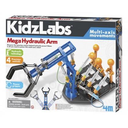 4M Kidz Labs - Mega Hydraulic Arm