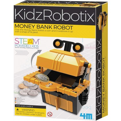 4M KidzRobotix - Money Bank Robot